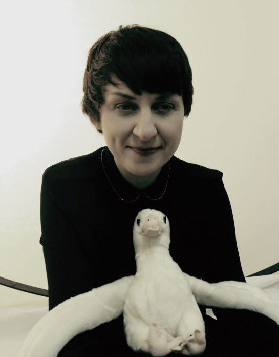 Me with the Dead Albatross Prize. Photo: Natalie McGowan